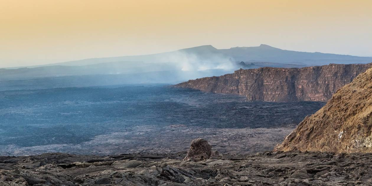 Volcan Erta Ale - Vallée du Grand Rift - Ethiopie