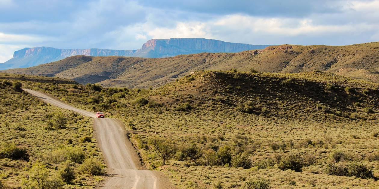 Route traversant le parc national du Karoo - Oudtshoorn - Afrique du Sud