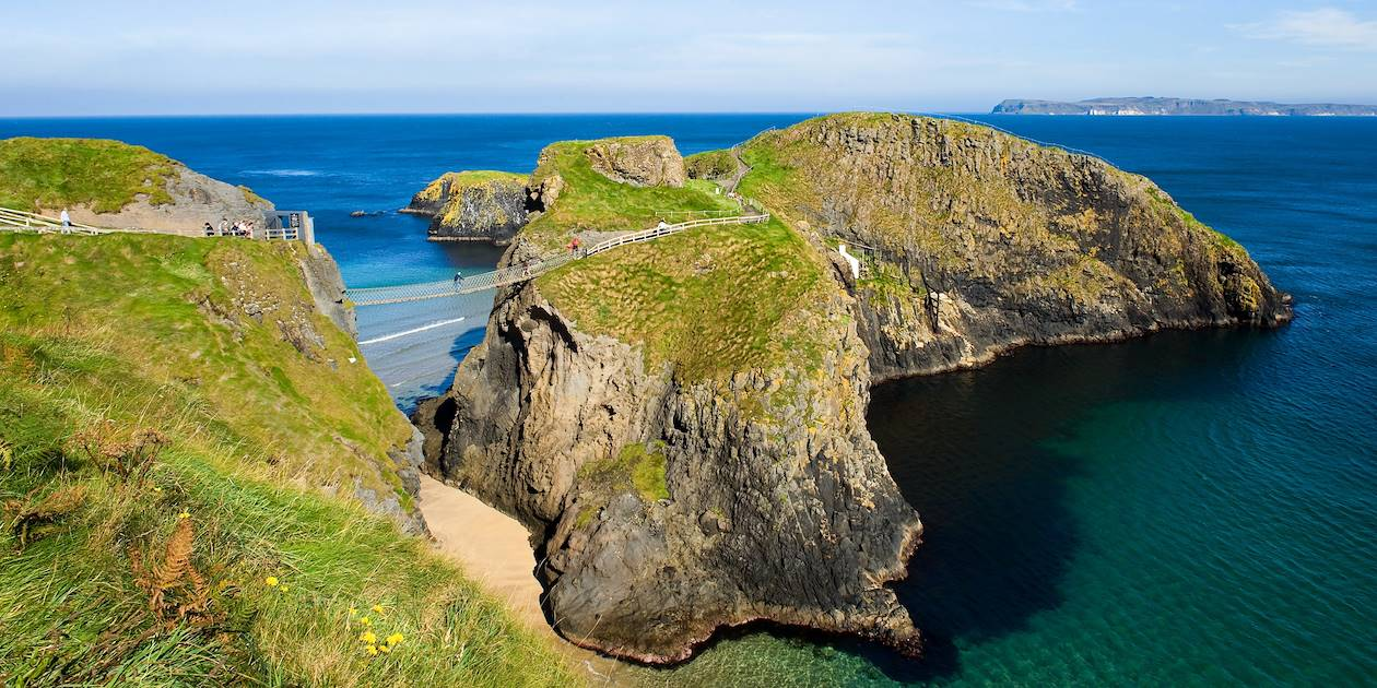 Pont en cordon de Carrick-a-Rede - Antrim- Irlande