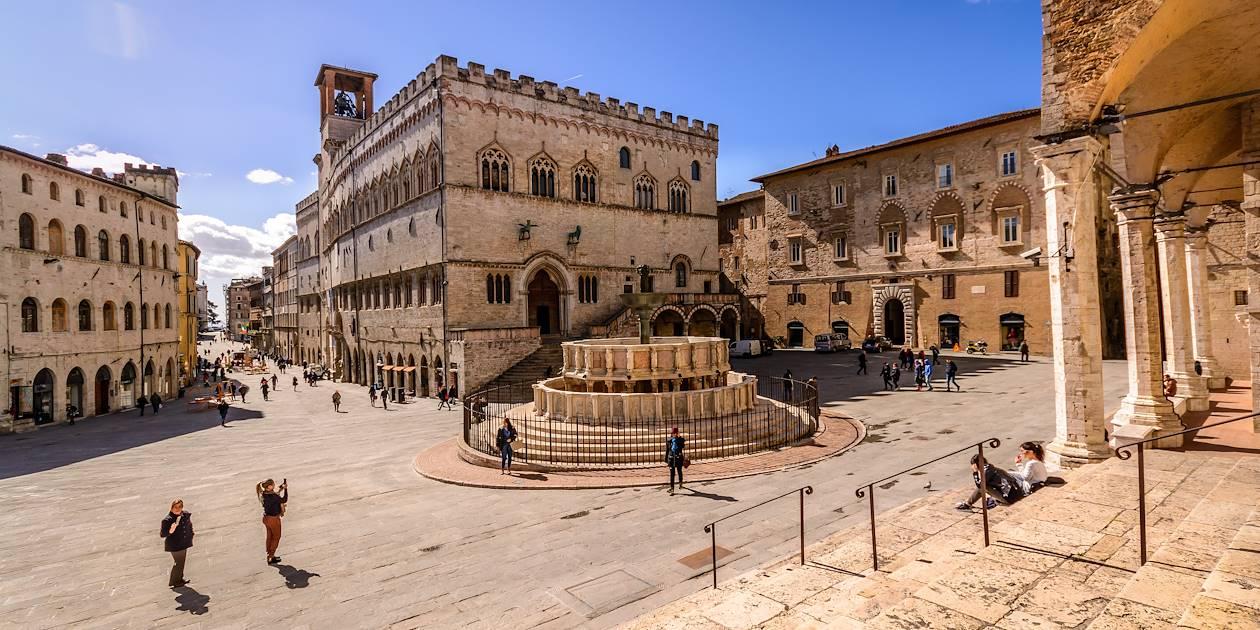 La Fontana Maggiore - Pérouse - L'Ombrie - Italie
