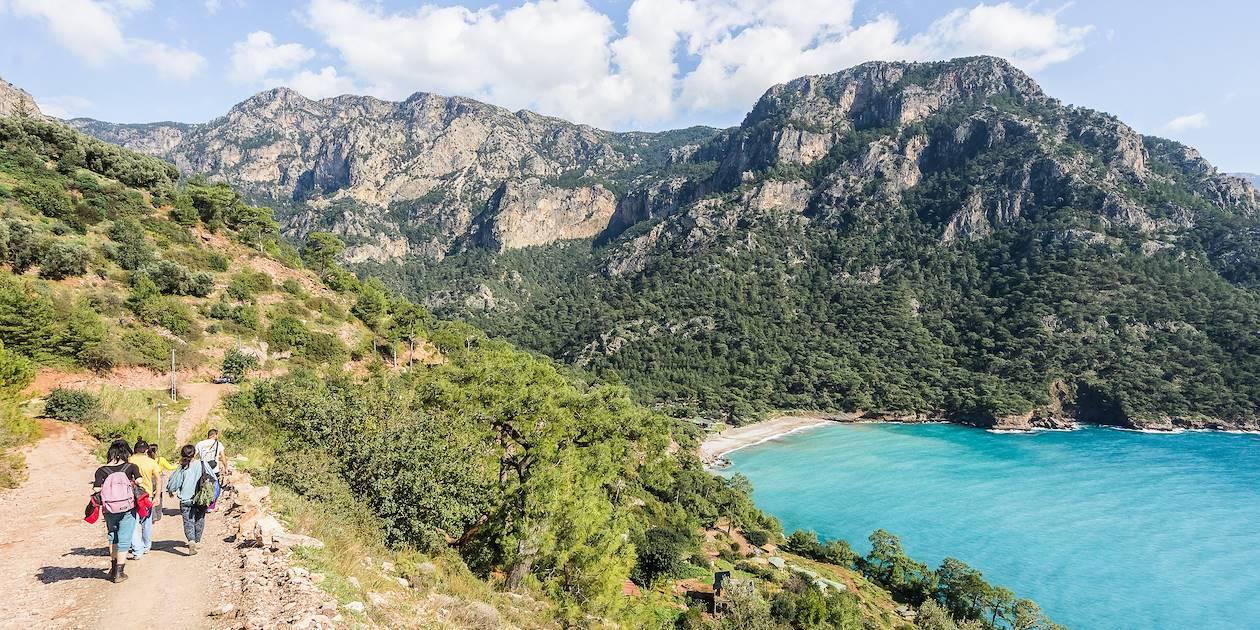 Randonnée sur la voie lycienne - Kabak - Turquie