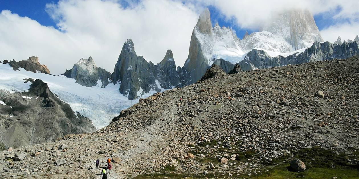 Le Fitz Roy dans le Parc national des glaciers - Argentine