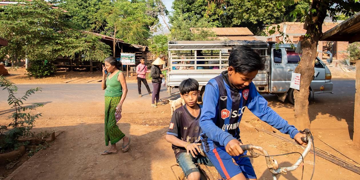 Découverte du village Ban Phaleng Neua - Plateau des Boloven - Laos