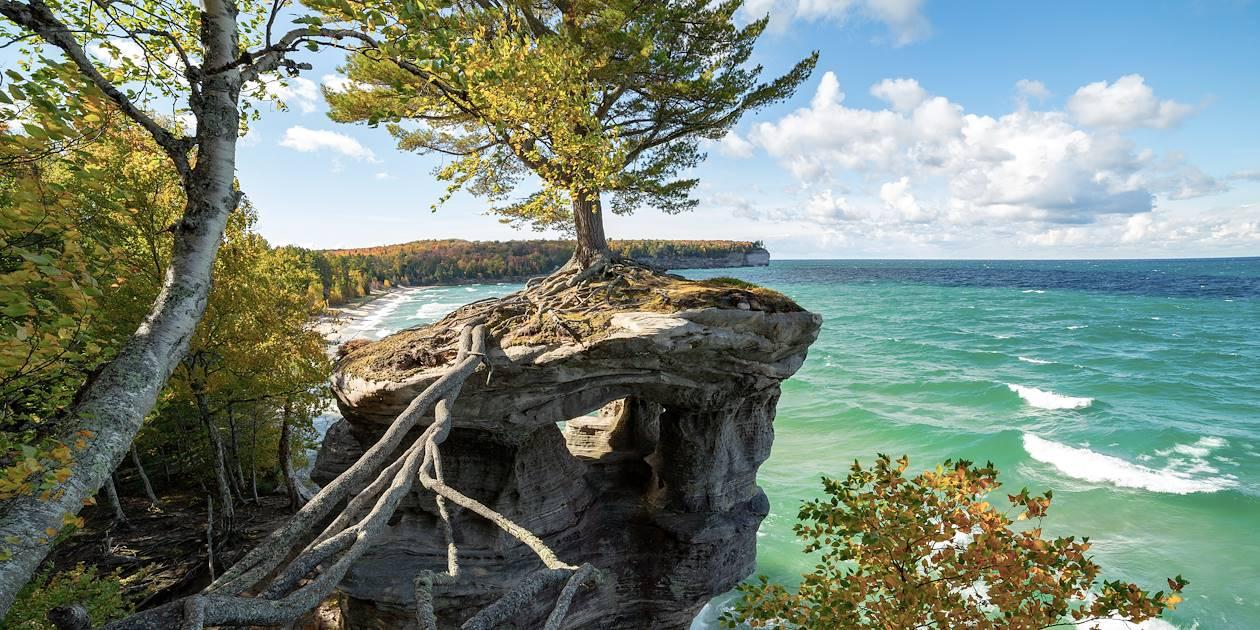 Chapel Rock sur le lac Supérieur - Michigan - Etats-Unis
