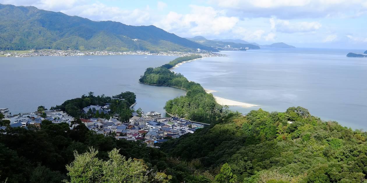 Le bras de terre d'Amanohashidate - Préfecture de Kyoto - Ile de Honshu - Japon