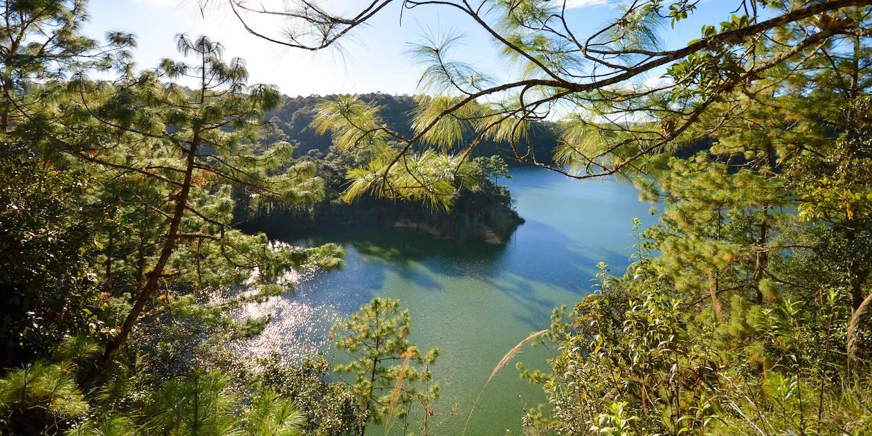 Lagunes de Montebello - Mexique