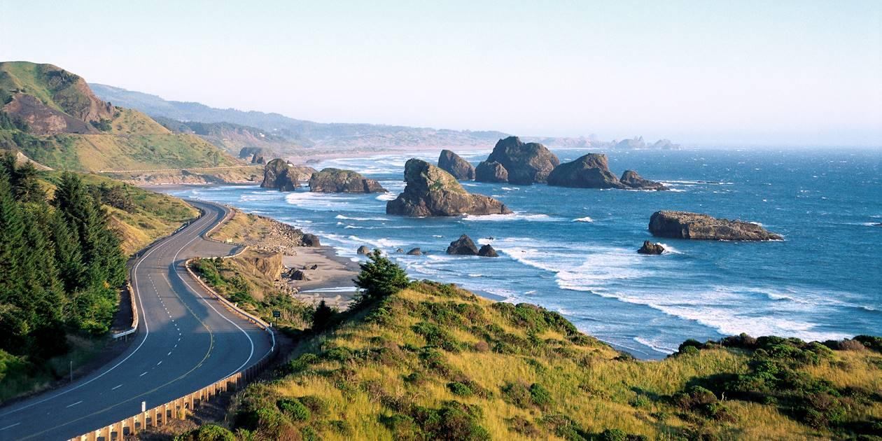 Cape Sebastian State Scenic Corridor - US 101 - Côte de l'Oregon - États-Unis