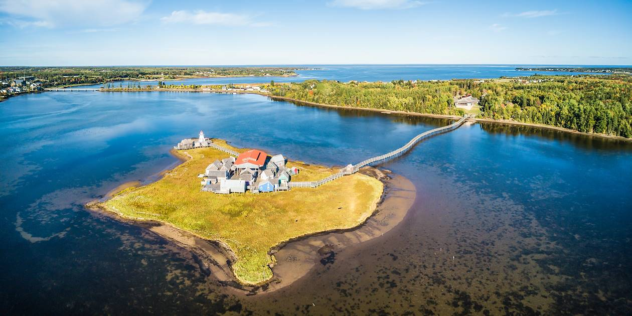 Bouctouche, le Pays de la Sagouine - Nouveau-Brunswick - Canada