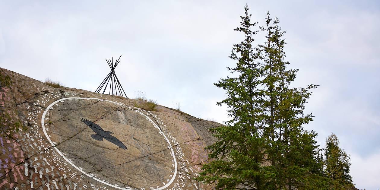 Richesse culturelle de la communautés autochtone - Yellowknife - Territoires du Nord-Ouest - Canada