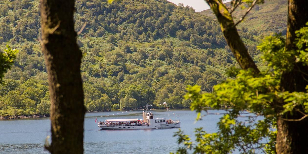 Croisière sur le Loch Katrine - Région des Trossachs - Ecosse