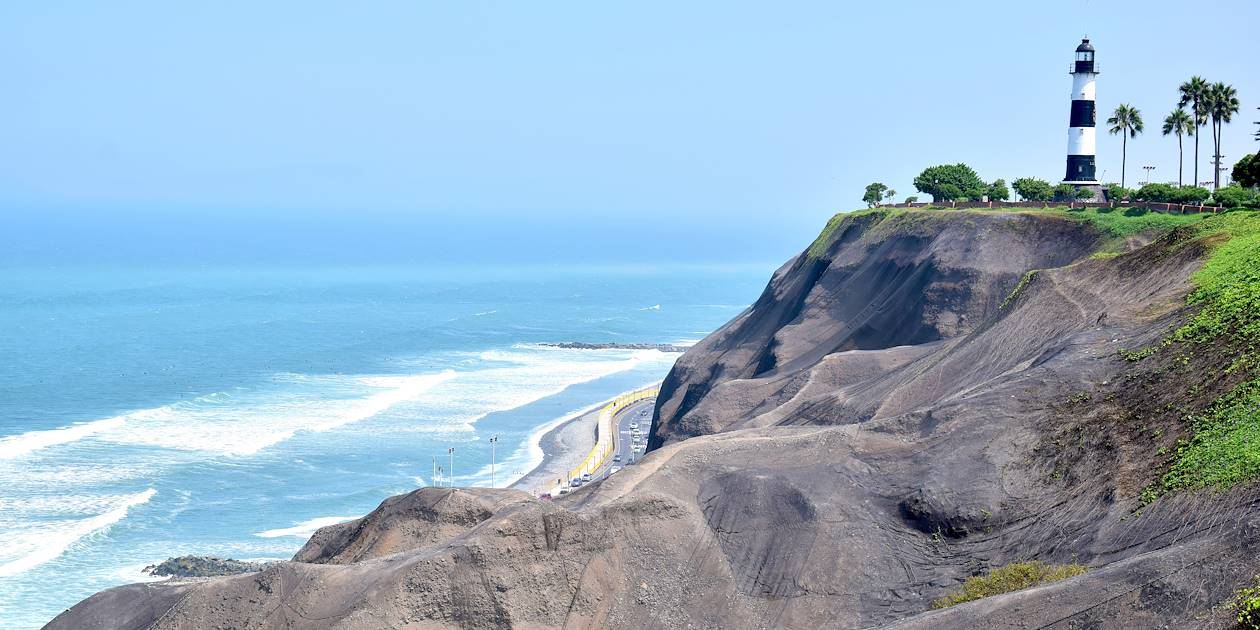 Quartier de Miraflores - Lima - Pérou