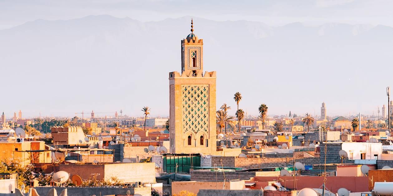 Toits de Marrakech - Maroc