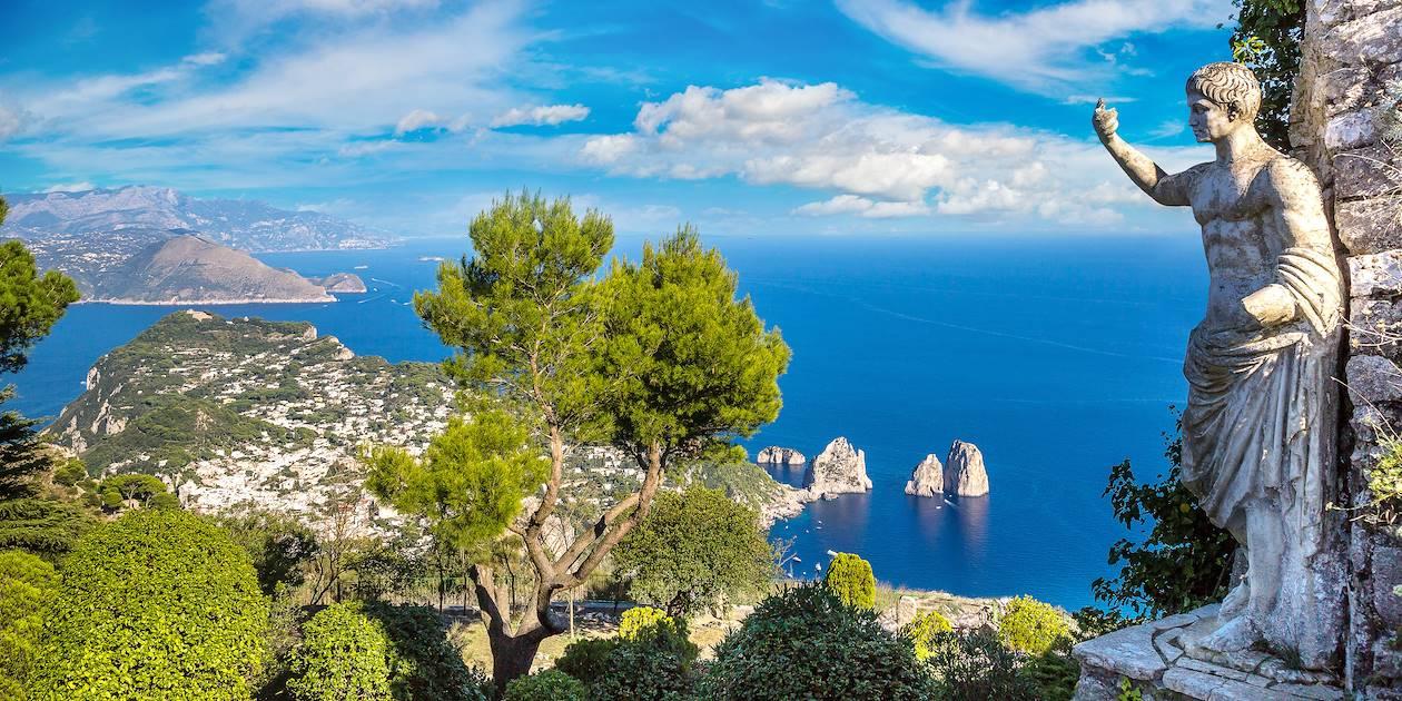 Île de Capri - Baie de Naples - Campanie - Italie