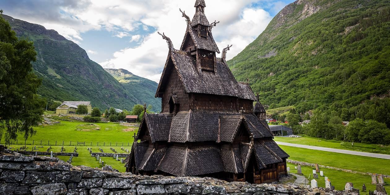 Stavkirke de Borgund - Norvège