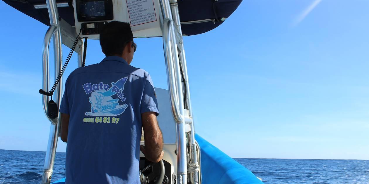 Sortie en mer avec Bato Péi - Côte Ouest - St Gilles les Bains - La Réunion