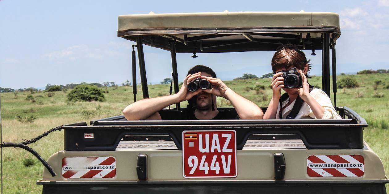 Safari dans le parc national de Queen Elizabeth - Ouganda