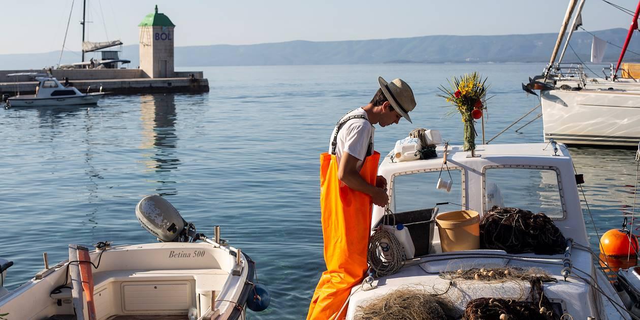 Port de Bol - Île de Brac - Croatie
