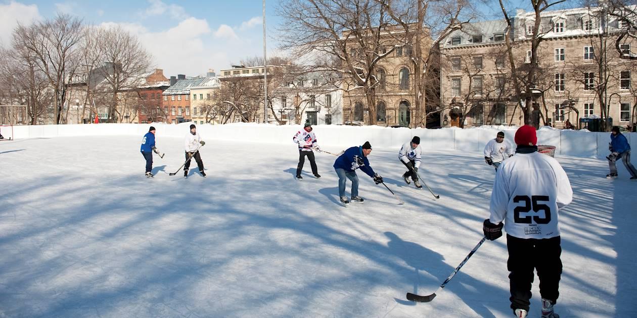 Hockey sur glace - Québec - Canada