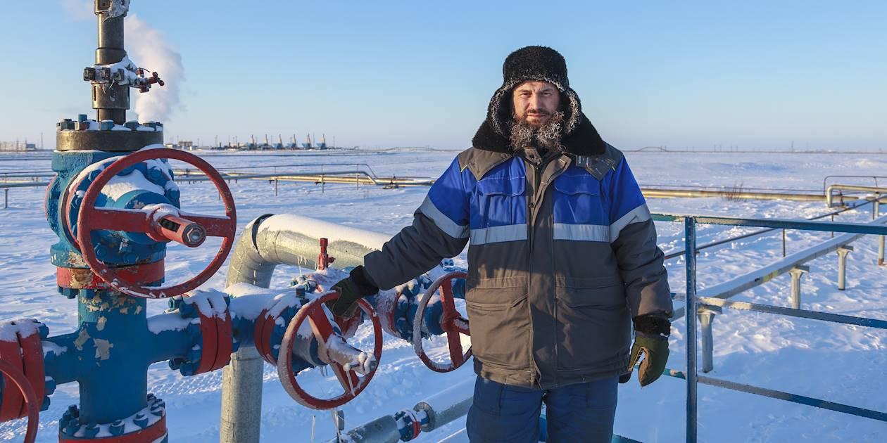 Exploitation des ressources de gaz - Alaska - Etats-Unis