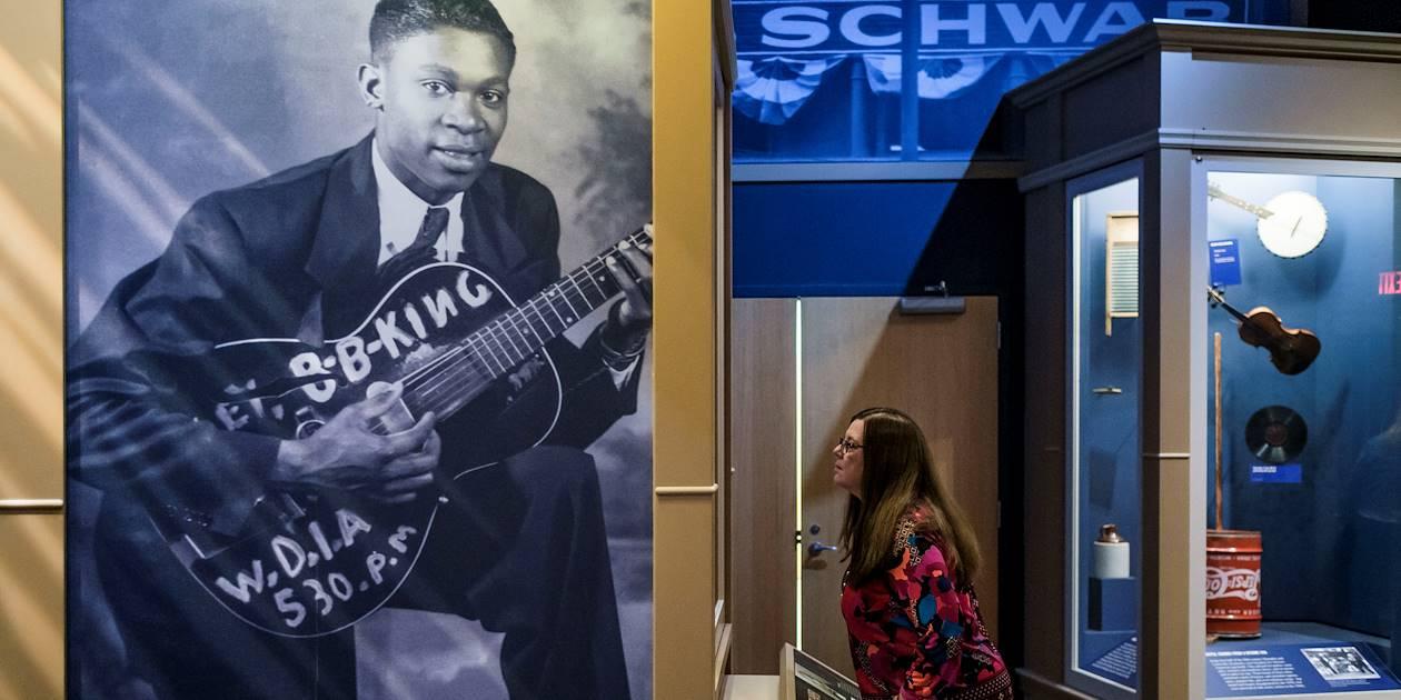 Clarksdale, berceau du blues : le B.B King Museum - Mississippi - Etats Unis