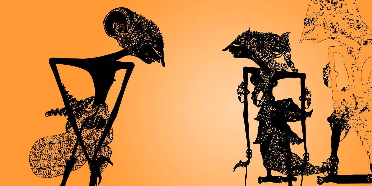 Marionnette d'ombre - Indonésie