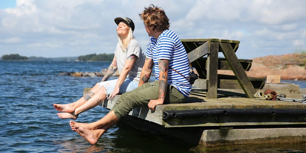 Flânerie au bord de l'eau - Inkoo - Finlande
