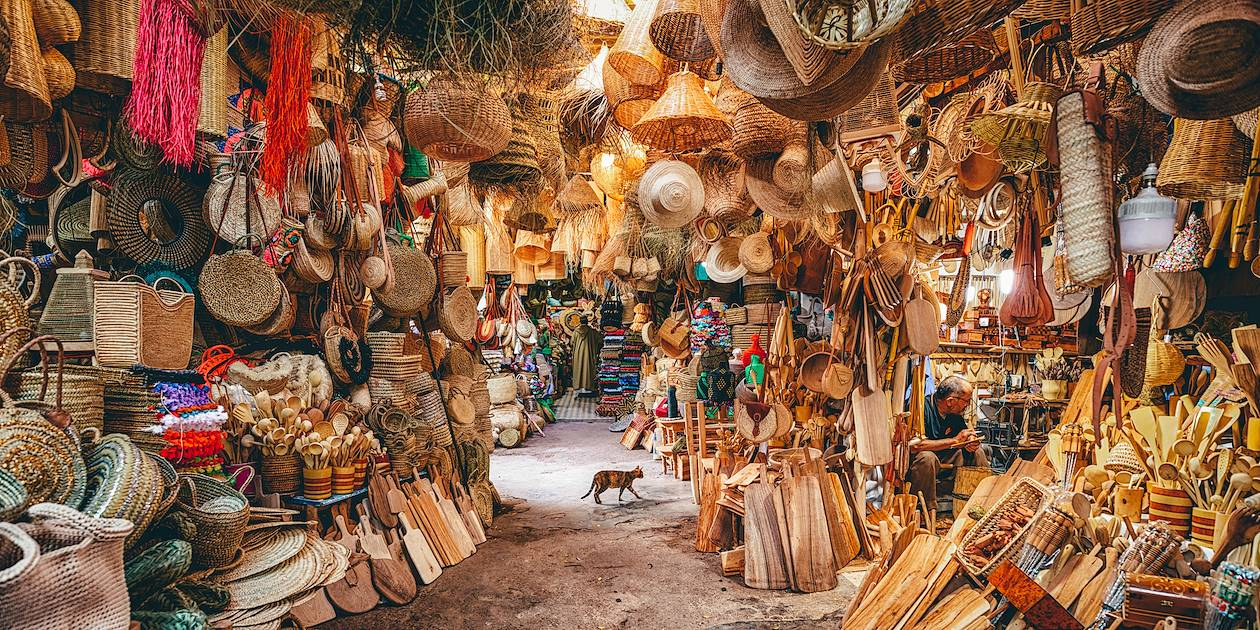 Souk à Marrakech - Maroc
