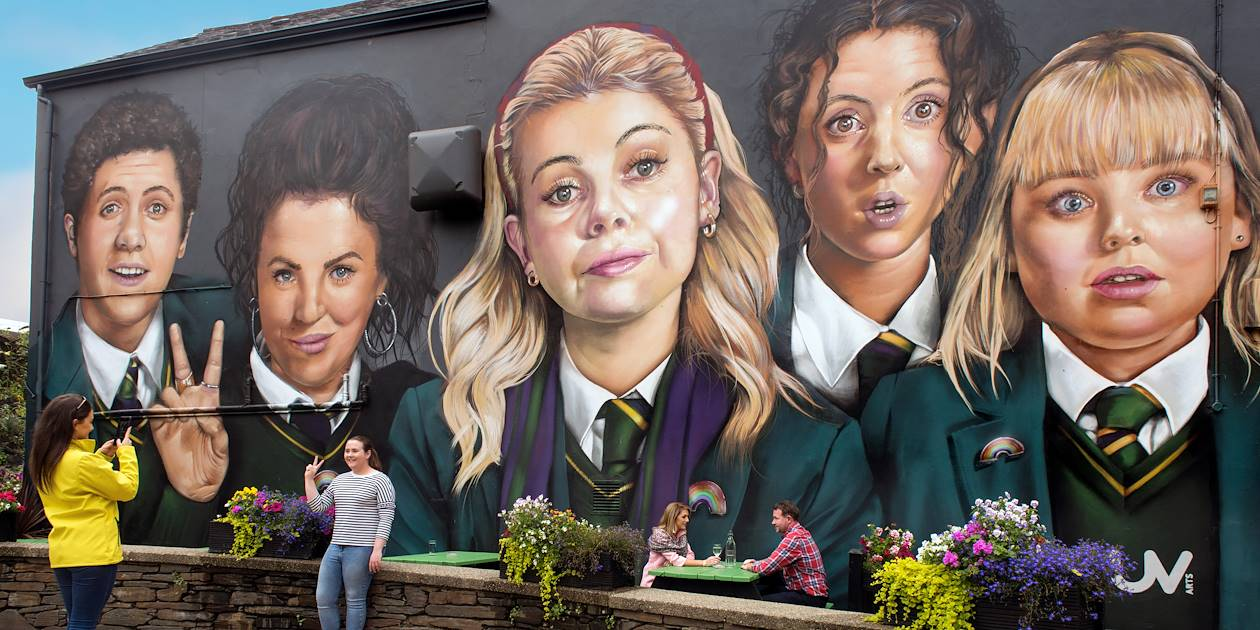Fresque murales - Londonderry - Irlande du Nord
