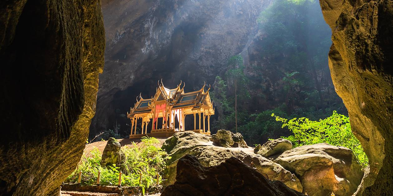 Le pavillon royal Kuha Karuhas dans la grotte de Phraya Nakhon - Kui Buri - Thaïlande