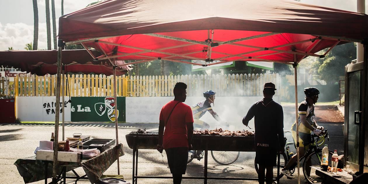 Street food dans le centre-ville - St Gilles les Bains - Région Ouest - La Réunion
