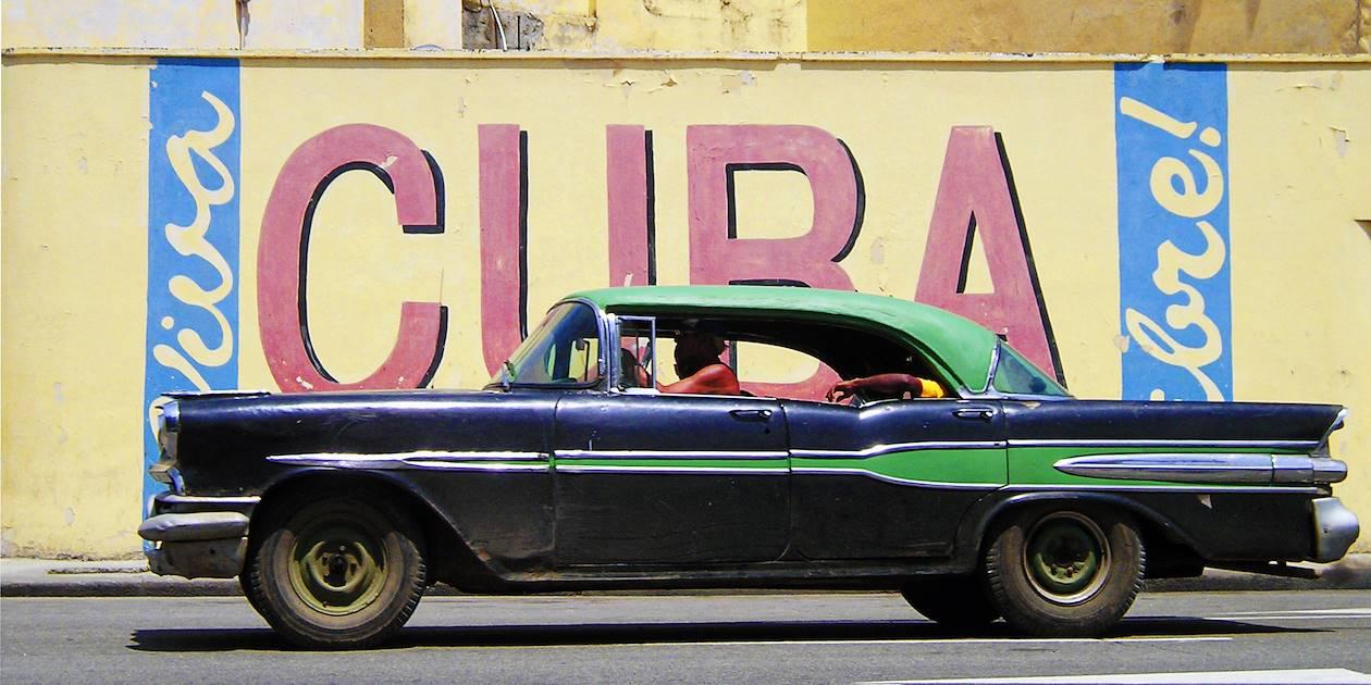 Vieille voiture - Cuba