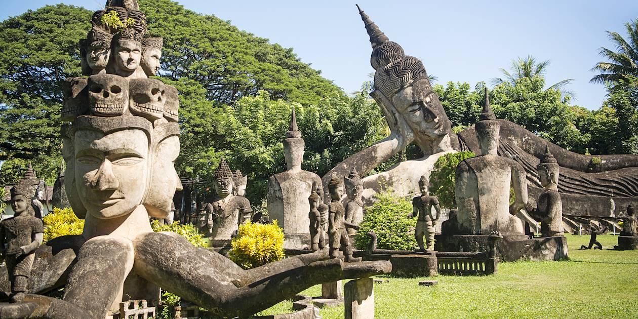 Xieng Khuan, parc du Bouddha près de Vientiane - Laos
