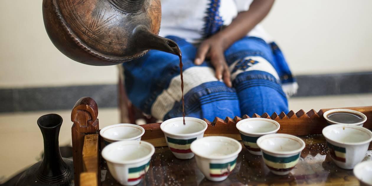 Cérémonie du café - Éthiopie