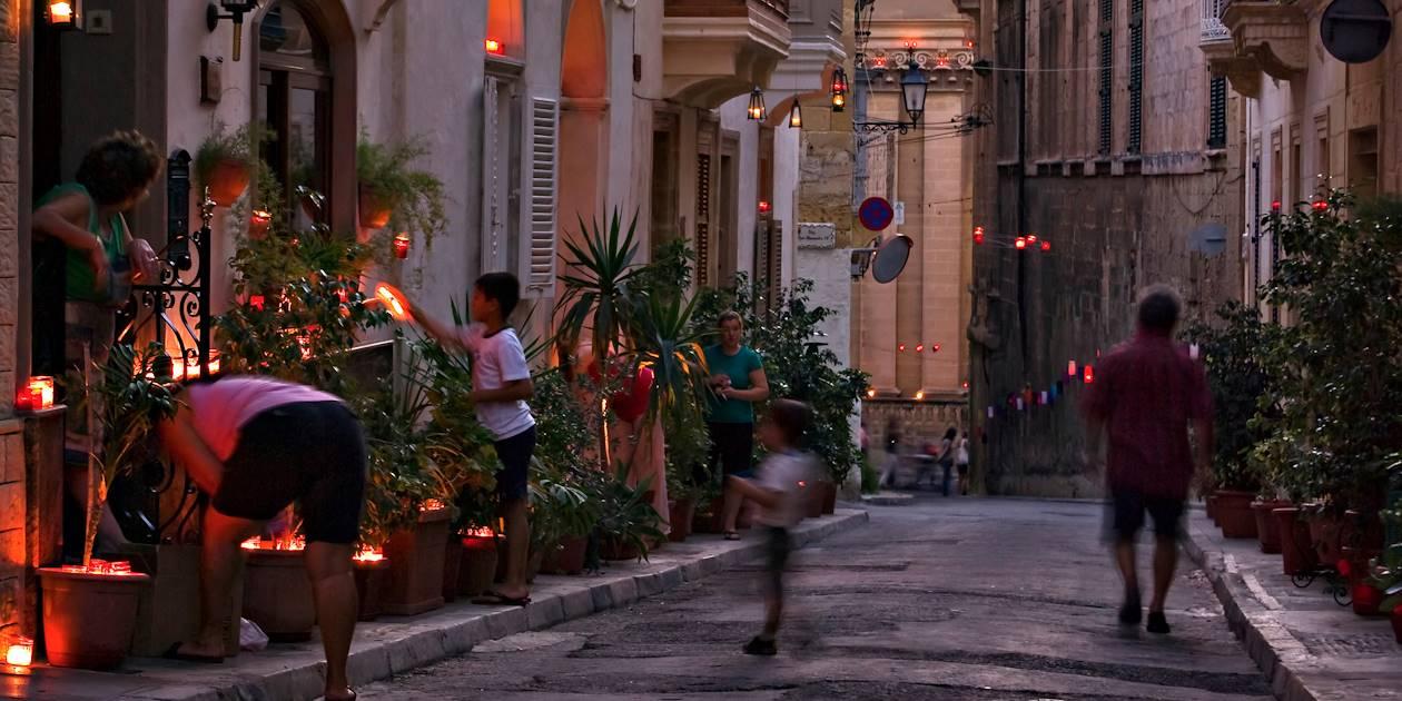 The Candle Festival - Birgu - Malte