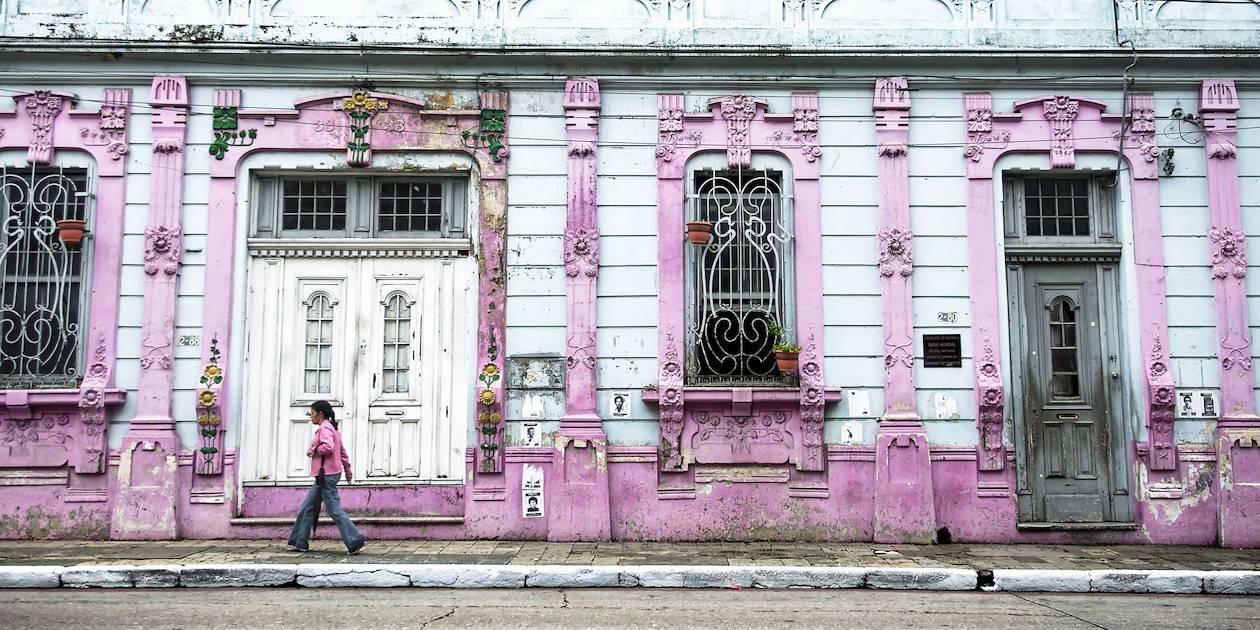 Dans les rues d'Antigua - Guatemala