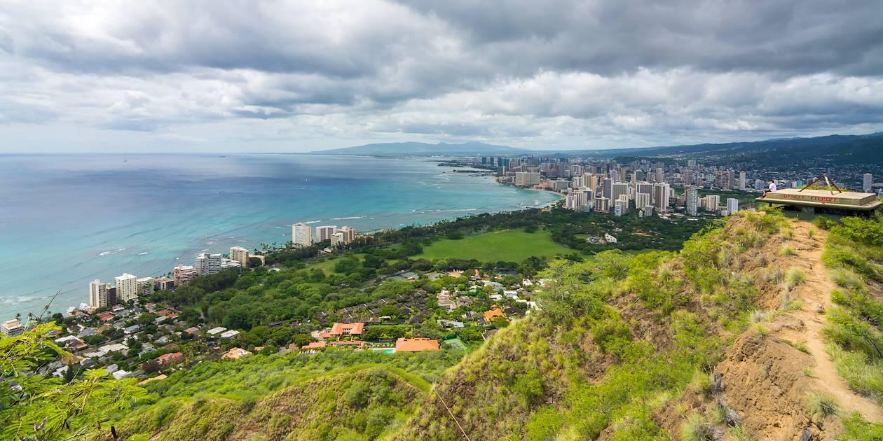 Diamond Head - Honolulu - Ile d'Oahu - Hawaï