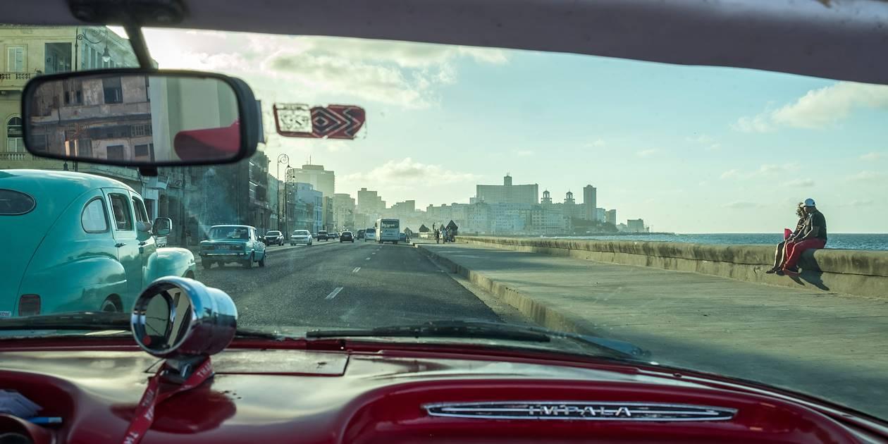 La Havane, en voiture américaine des années 50 - La Havane - Cuba