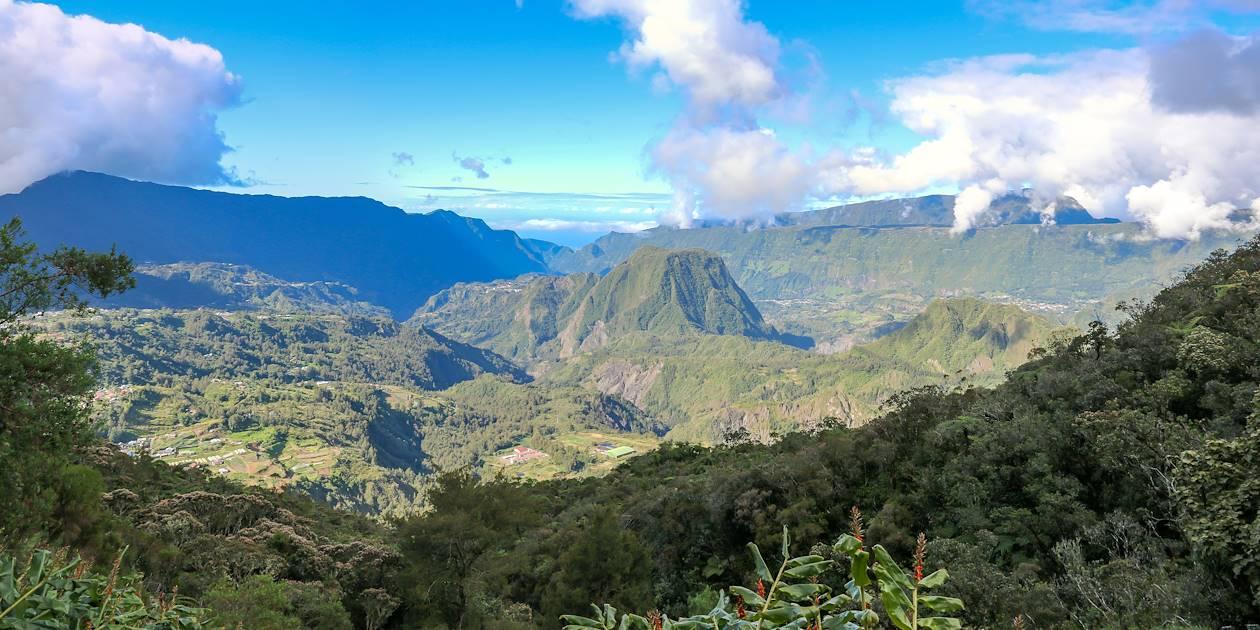 Cirque de Salazie, point de vue du plateau de Bélouve - Bélouve - La Réunion