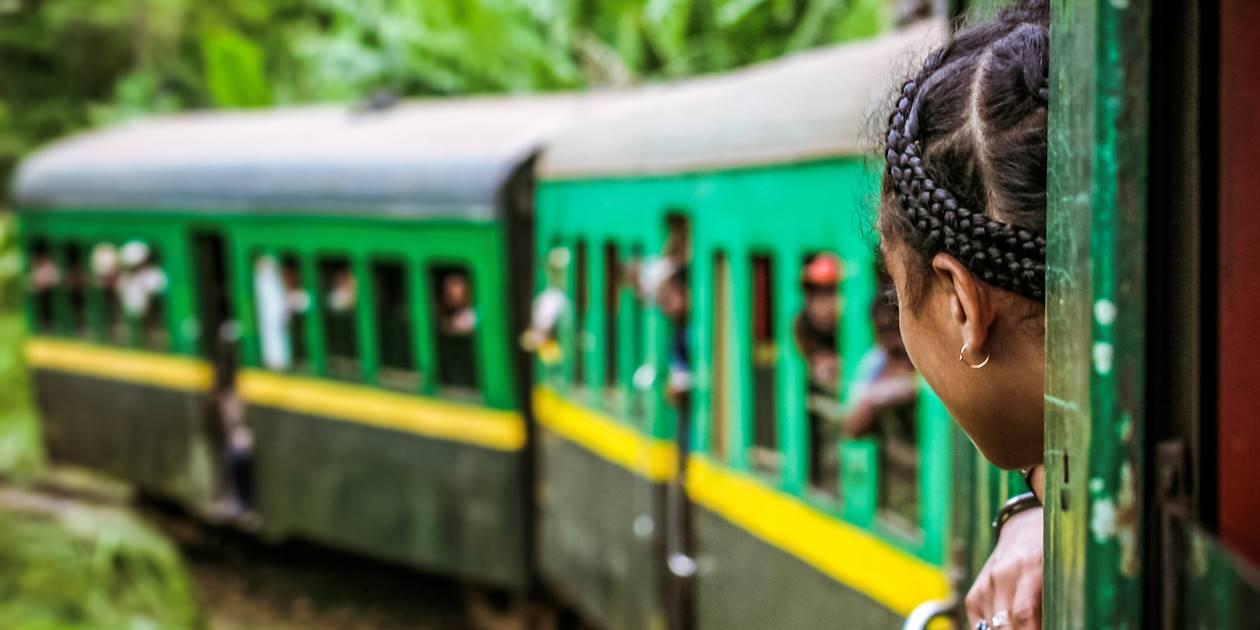 Voyage en train - Fianarantsoa - Madagascar