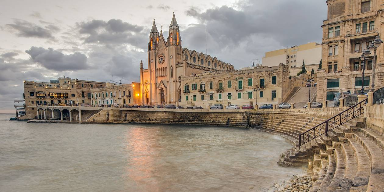 Église Notre-Dame-du-Mont-Carmel de San Giljan - Malte