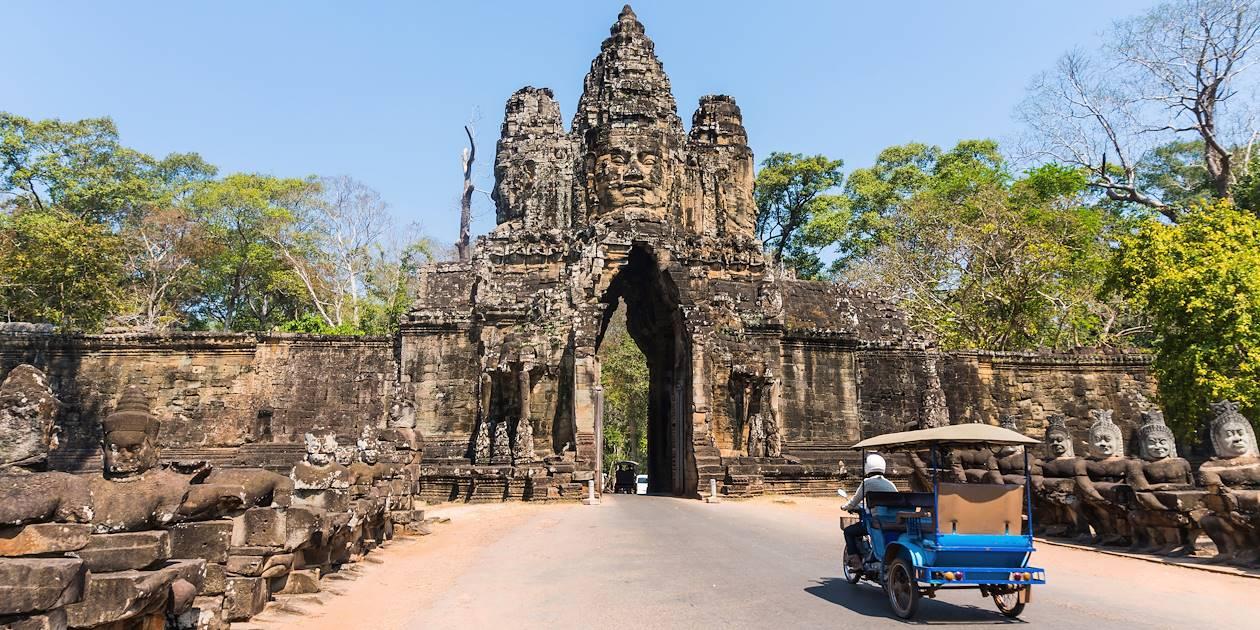 Porte d'entrée du site Angkor Thom - Siem Reap - Cambodge