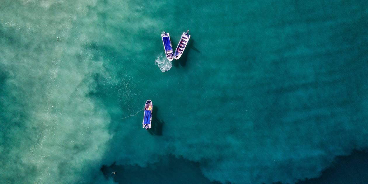 Bateaux de pêche dans l'Océan Pacifique - Costa Rica