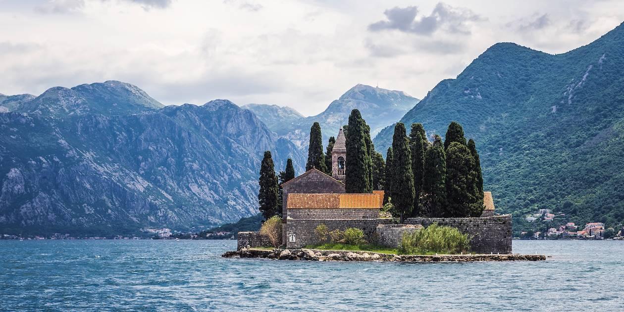 Monastère Saint George - Perast - Bouches de Kotor - Monténégro