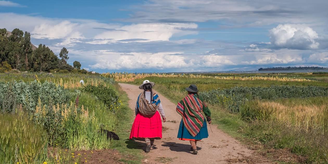 Paysannes - Socca- Pérou