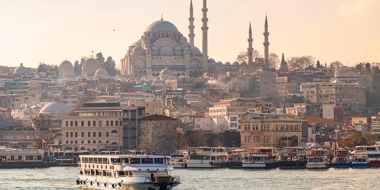 Istanbul, au coucher du soleil - Turquie