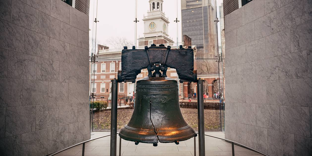 La Liberty Bell à Philadelphie - Pennsylvanie - Etats-Unis