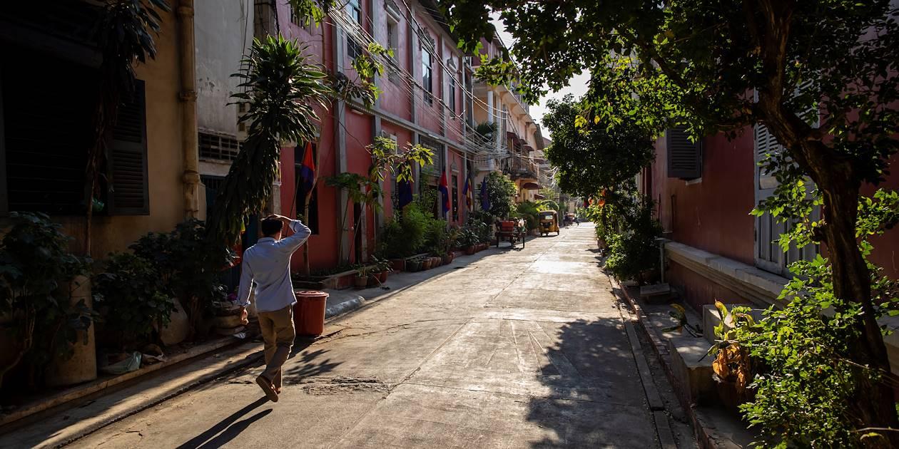Dans les rues de Phnom Penh - Cambodge