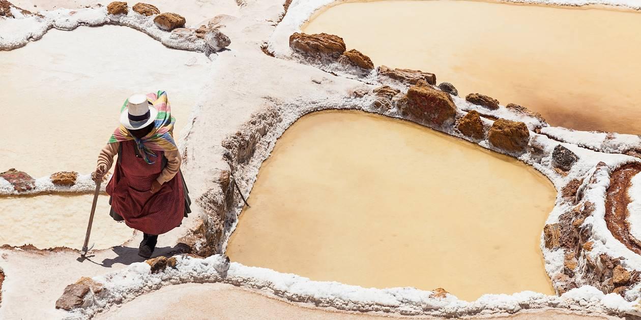 Les salines de Maras - Vallée de l'Urubamba - Pérou