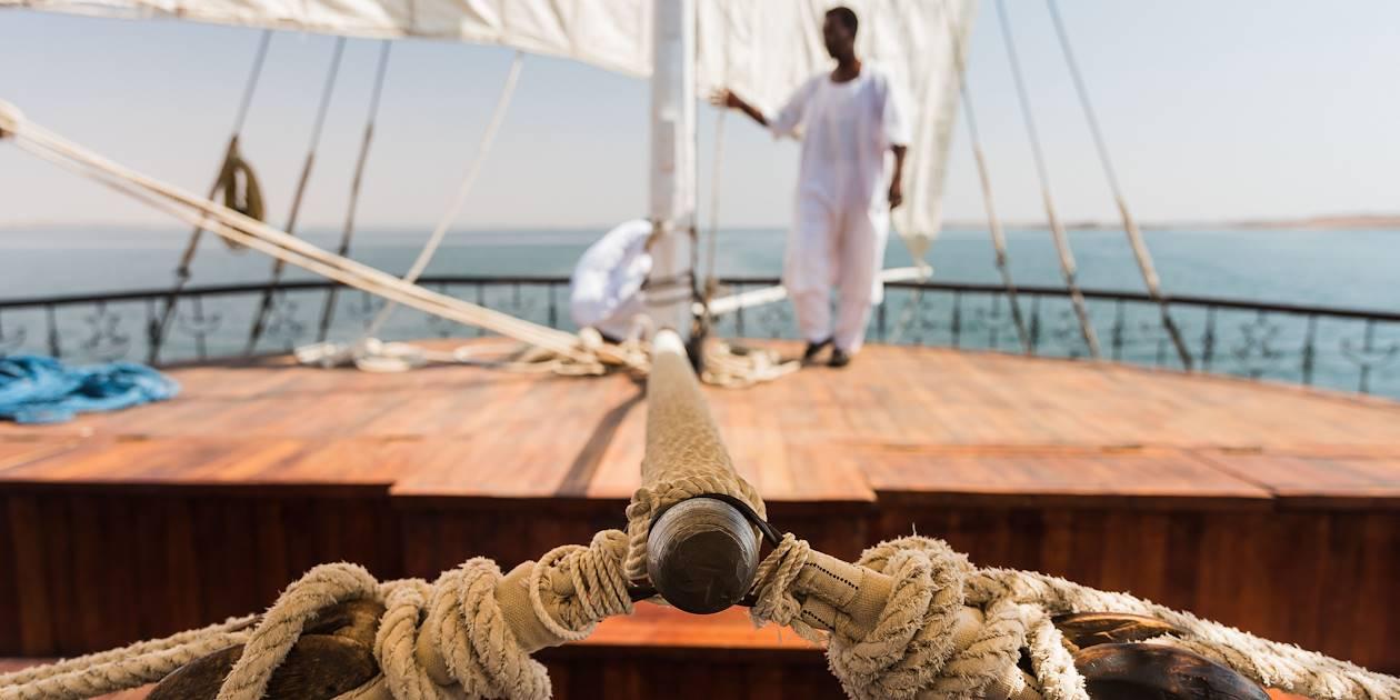 Croisière à bord d'une dahabieh - Égypte