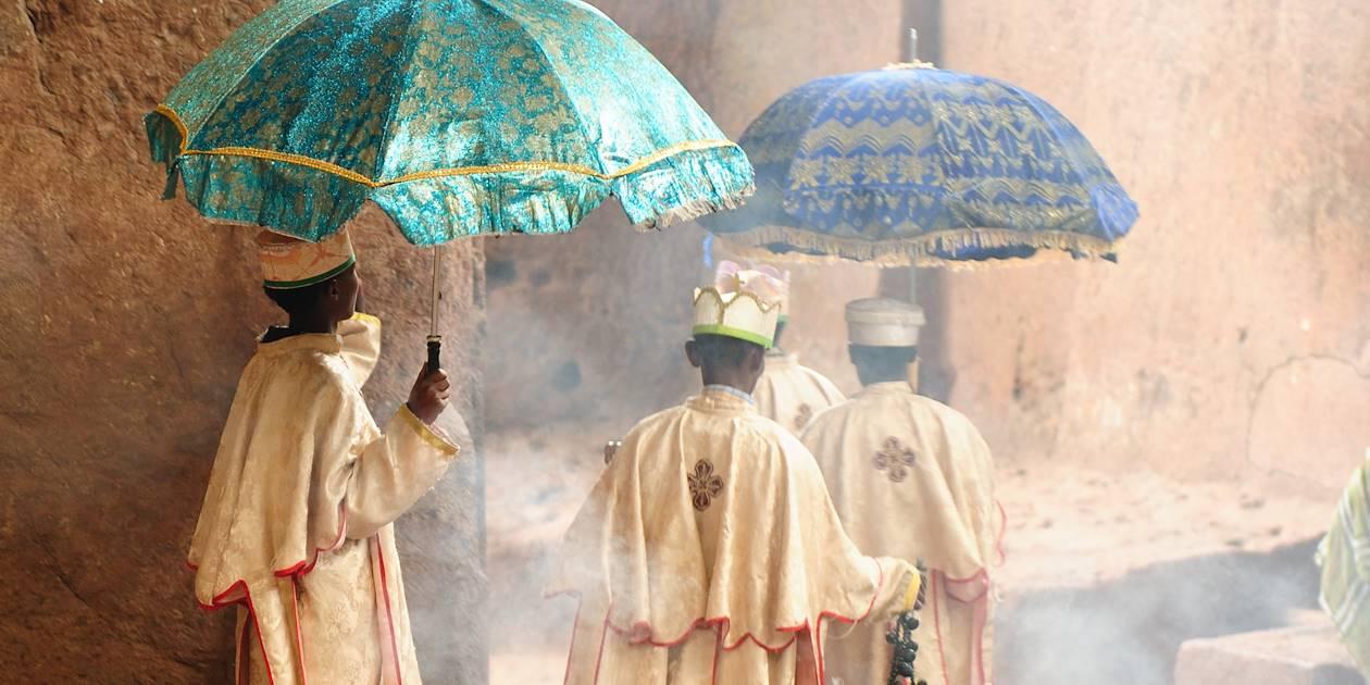 Prêtre à Lalibella - Région Amhara - Ethiopie